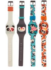 Childrens Pantalla Táctil LED Digital Reloj de Silicona Niños Regalos De Animales