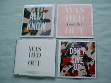 WASHED OUT job lot of 4 promo CD singles Amor Fati All I Know Don't Give Up