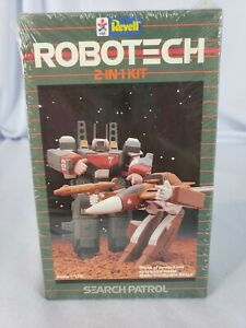 Vintage Revell Robotech 2-in-1 Model Kit Search Patrol Scale 1/170 Germany 1984