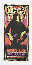 Iggy Pop Handbill Agora Theatre 1996 Apr 13 Mark Arminski
