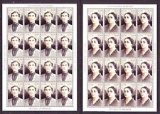 ABKHAZIA. LOT OF 360 MINI-SHEETS. 20 EACH OF 18 DIFF. STAMPS ISSUED 1999-2000!