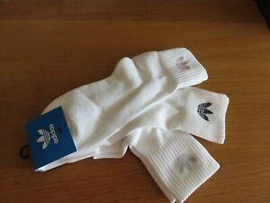 ADIDAS Women's Mid Cut Crew Socks - 3 Pairs, UK 6.5 - 8 (M), EUR 40 - 42, NEW