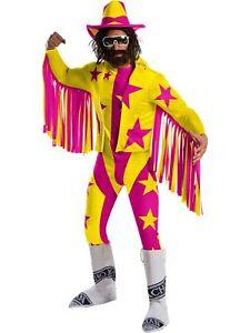 Wwe Macho Man Randy Savage Deluxe Adult Costume (Size STD)