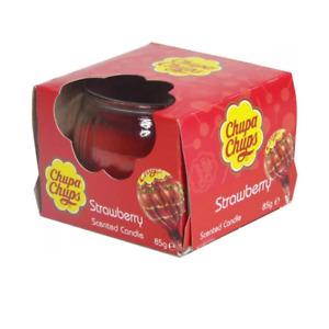 Chupa Chups Scented Candle Jar - Strawberry 85g