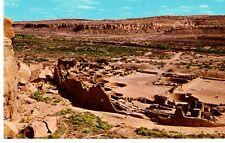 Birds-eye View of Pueblo Bonito, New Mexico Postcard