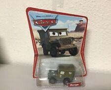MOC Pixar Cars Sarge on Desert Card