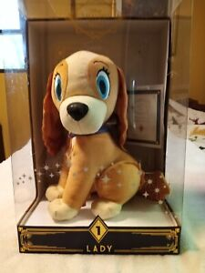 Disney Treasures from The Vault Limited Edition Lady Plush Exclusive New