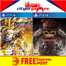 Dragon Ball FighterZ & Street Fighter V 5 Arcade Edition PS4 Bundle New In Stock