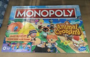 OFFICIAL Animal Crossing Monopoly IN HAND New Horizons Edition Brand New Rare!