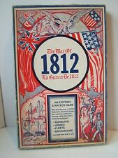 The War of 1812 Vintage Complete Strategy Board Game Gamma Two Games 1973