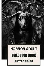 Coloring Book for Adults: Horror Adult Coloring Book : Macabre and Dark...
