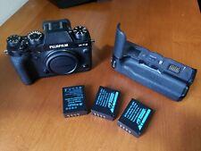 Fujifilm Fuji X-T2 Mirrorless Digital Camera Body, Battery Grip batteries & more