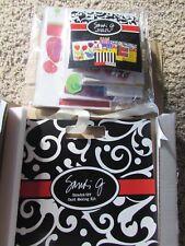 NEW sealed package huge set Sandi G scratch off greeting card making supply kit