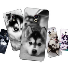 Suave TPU para Meizu Pro 7 Plus Motorola Moto E4 Plus C G5S M X4 cubre perros