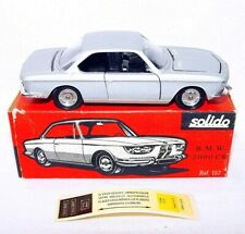 Solido France 1:43 BMW 2000 CS 2-Door Sport Model Car + Decalsheet #157 MIB`67!