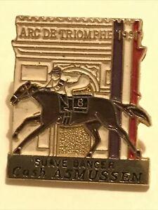 ARC DE TRIOMPHE 1991 Pin Badge-Suave Dancer 1st Place-RARE