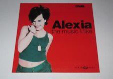 Alexia - the music I like - cd single 2 titres 1998