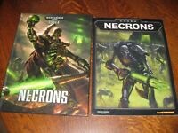 Warhammer 40,000 40K Codex Necrons 2015 Games Workshop 2 BOOKS FREE SHIPPING