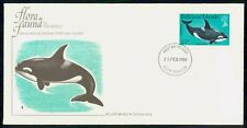 Mayfairstamps Falkland Islands 1980 Killer Whale first Day Cover wwf98901
