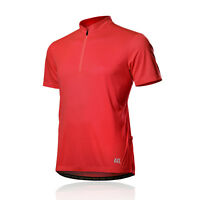 SPAKCT Cycling Jersey - Star Breathable anti-sweat Bicycle Short Sleeves Red