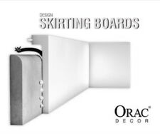 20x Orac Decor SX171 Axxent Cover Skirting, Baseboard 200 x 10 x 2.2cm, 40 mtrs