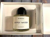 Byredo Gypsy Water Eau de Parfum Unisex 100 ml 3.4 fl.oz. New Sealed Box