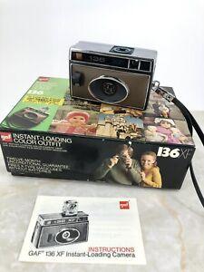 VTG GAF Model: 136 XF Camera - Instant-Loading Color Outfit - 35mm Film