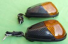 INDFCBN - Flush Fairing INDICATORS B Carbon AMBER E Marked EMARK NEW