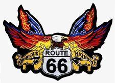 Patch écusson Aigle route 66 GF blouson cuir moto custom motard choppers