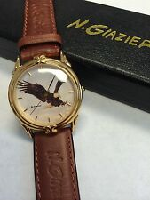 Wildlife Unisex Hand Watch Eagle By N. Giazier NEW Needs Battery, LAST ONE