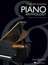 The Boosey & Hawkes Piano Anthology Sheet Music 33 Pieces by 23 Compos 048021086