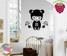 Wall Stickers Vinyl Decal Chinese Oriental Girl Kid Cartoon ig944