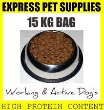 15kg Working & Active High Protein Complete Dry Dog Food - Great Value