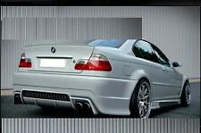 BMW E46 Trunk Lip Spoiler (Unpainted )
