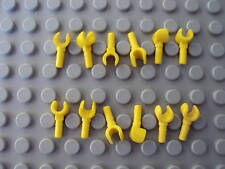 Lego Minifig ~ Lot Of 12 Yellow Hands 6 Pair Parts