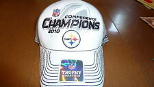 Pittsburgh Steelers 2010 Conference Champions Hat Cap