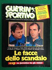 GUERIN SPORTIVO 1985 n 48 con Poster Story MALDINI-MILAN CUCCHI-INTER