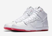 Nike MEN'S SB Zoom Dunk High Pro QS KEVIN BRADLEY SIZE 12 BRAND NEW WHITE RED