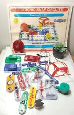🌟 Snap Circuits Jr. SC-100 Electronics Discovery Kit  Elenco (Incomplete Set)