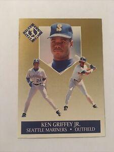 1991 Ken Griffey Jr Fleer Ultra Team Insert Card