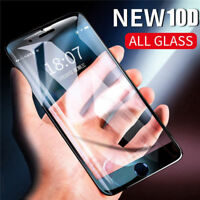 10D Full Cover Tempered Glass Screen Protector Film For iPhone X 6s 7 8 Plus XS
