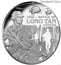 2016 BATTLE OF LONG TAN Silver Proof Coin