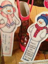 Christmas Frosty Friends Cross Stitch Chart
