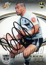 ✺Signed✺ 2007 NEW ZEALAND WARRIORS NRL Card RUBEN WIKI