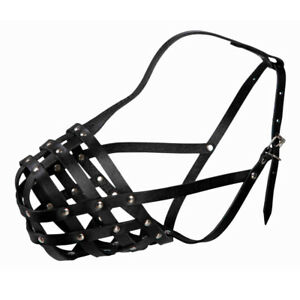 JULIUS-K9 dog muzzle Trixie leather different sizes free worldwide delivery