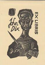 ex-libris John Dix