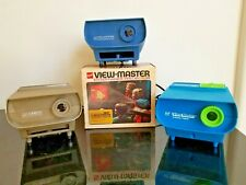 Collection of 3 ViewMaster Entertainer Projectors by GAF, All in Working Condit