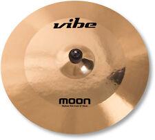 "18"" Vibe Moon Brilliant Medium Thin Crash Becken Cymbal B20 mit Zertifikat"
