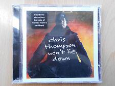 CD: Chris Thompson-won 't lie down (2001)