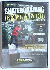 Lake Owen Skateboarding Explained Instructional Video Dvd, MacFarlane, New, 2006